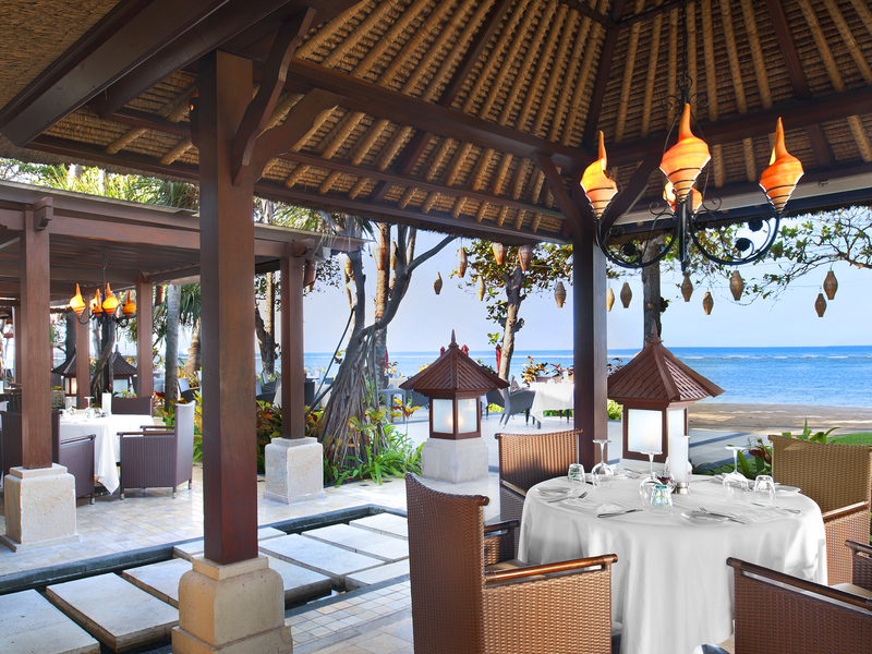 the laguna a luxury collection resort spa bali outdoor new year party
