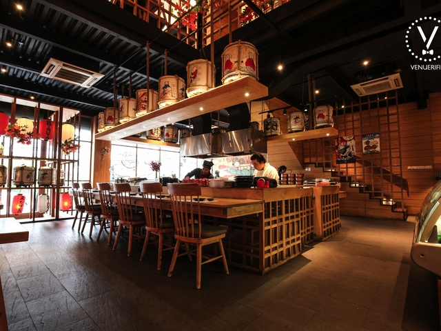 ebisuya restaurant unique place for product launch jakarta
