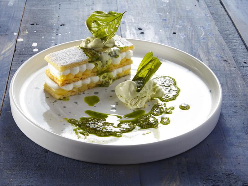 dessert made from organic ingredients