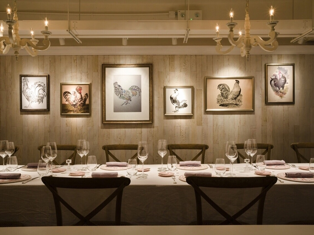 intimate solemnisation dining setup in ta pantry private dining