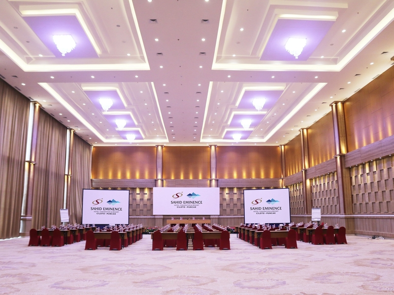 sahid eminence hotel convention and resort conference room for rent bogor