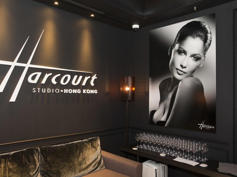 studio harcourt parisian interior waiting area