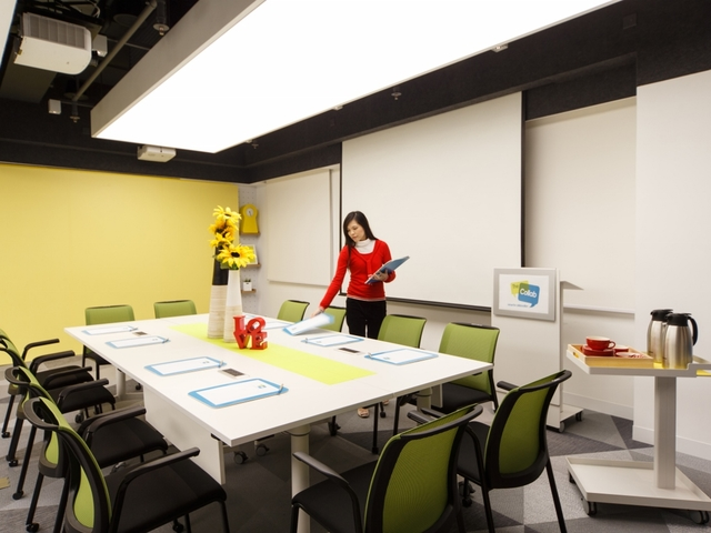 the collab meeting room venue with facilities for rent