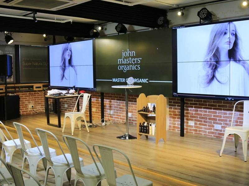 the hub event venue product launch presentation