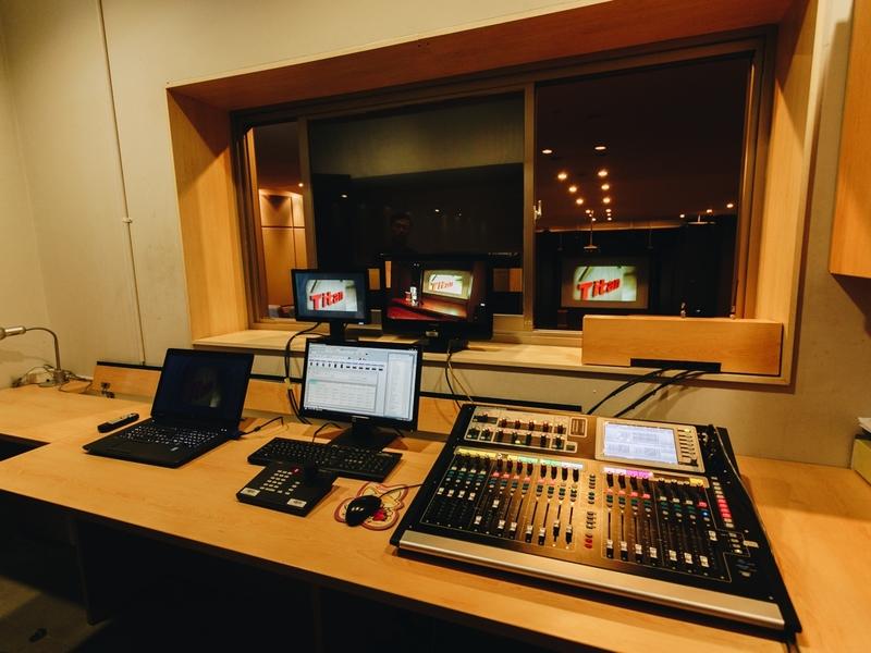 titan center venue with sound system tangerang