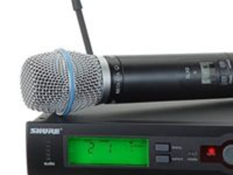 audio facilities equipped by the venue