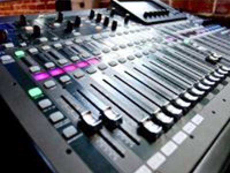 the hub event venue concert broadcast equipment