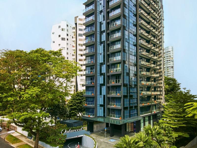 oakwood studios singapore building