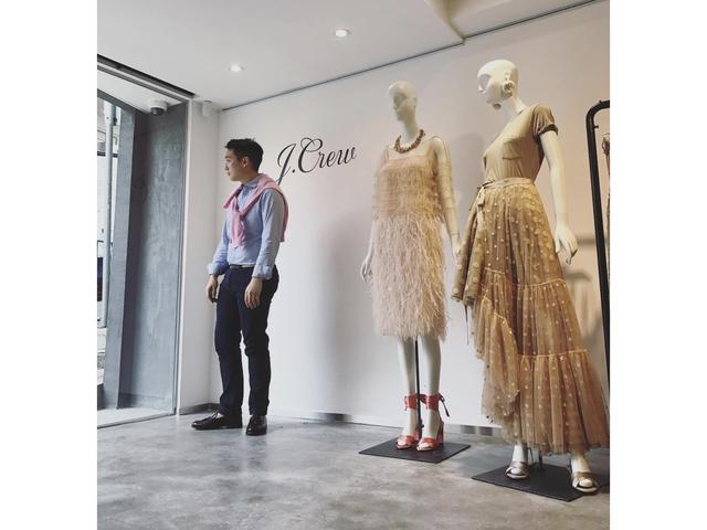mannequins setups during fashion events