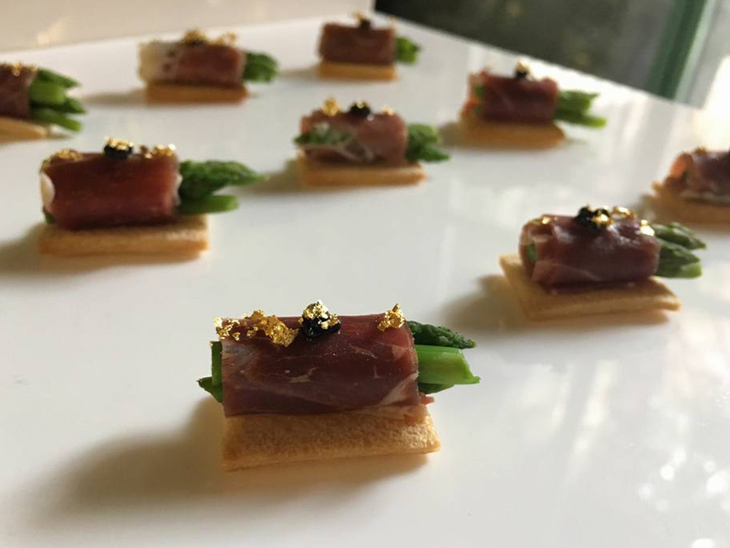 tapas served in private party