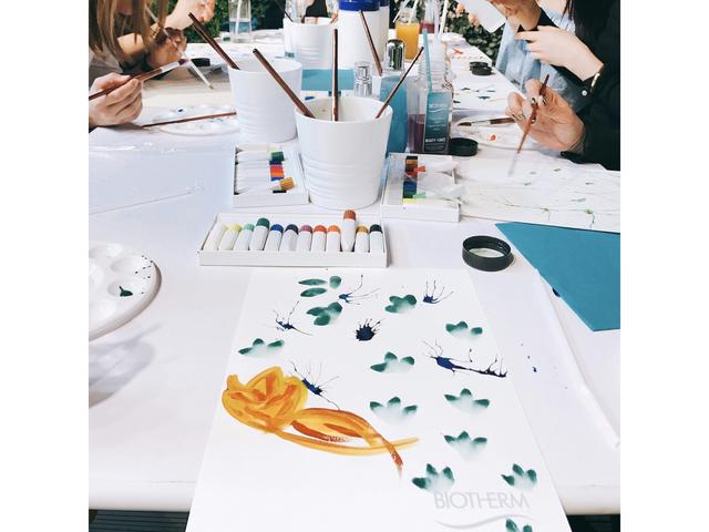 painting workshop in soho yard gallery