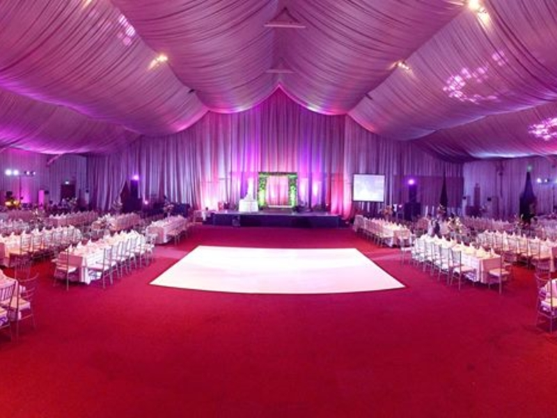 multifunctional event space for up to 2500 pax