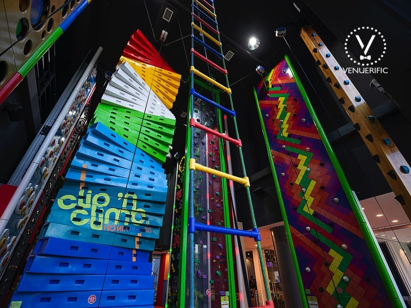 the first indoor climbing themes park singapore