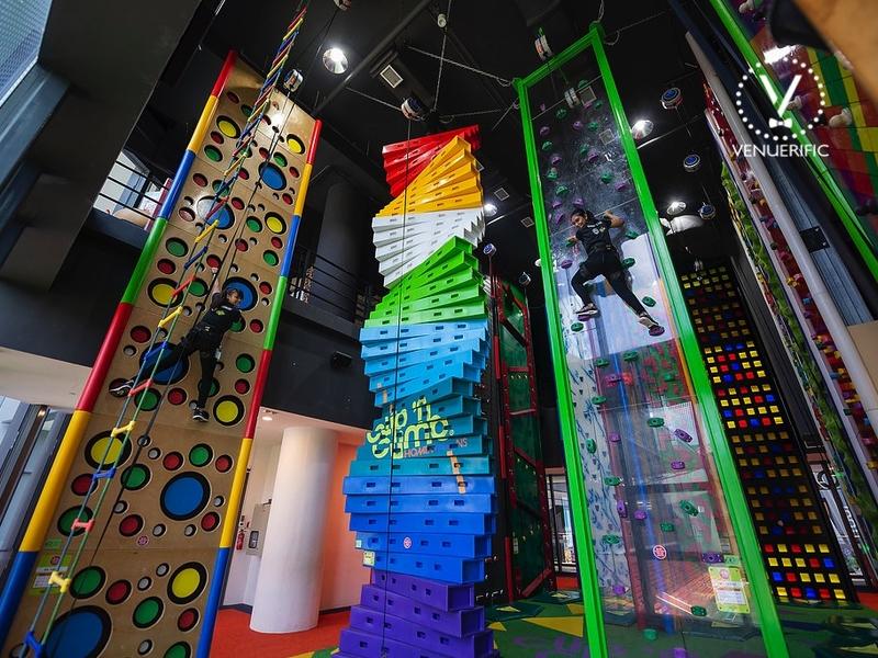 indoor climbing themed park singapore