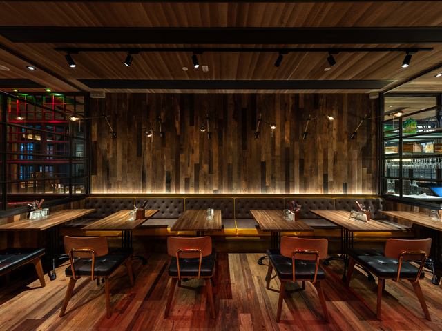 the chop house dining interior suitable for parties
