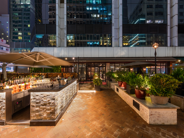 the chop house outdoor event area