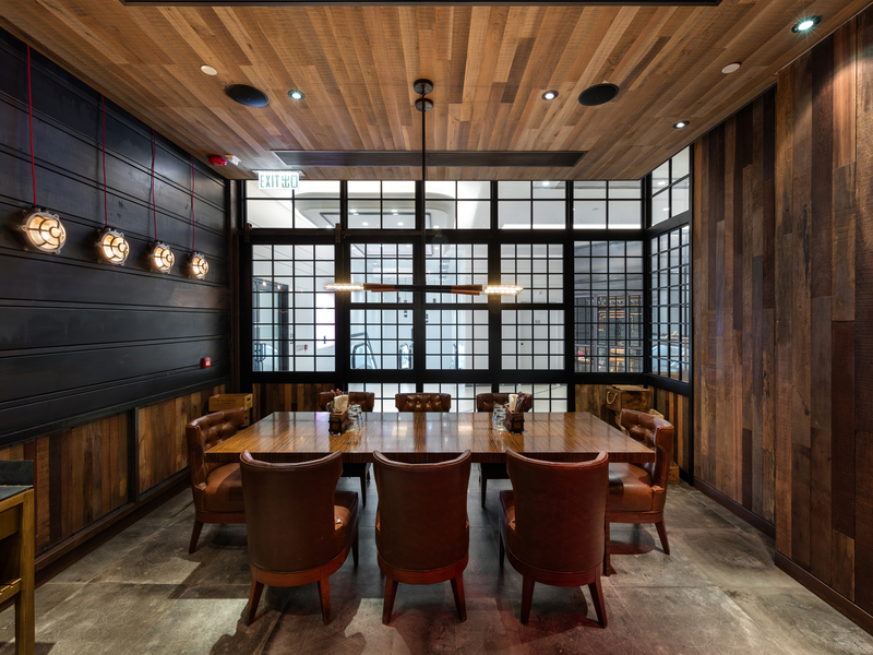 the chop house private room party