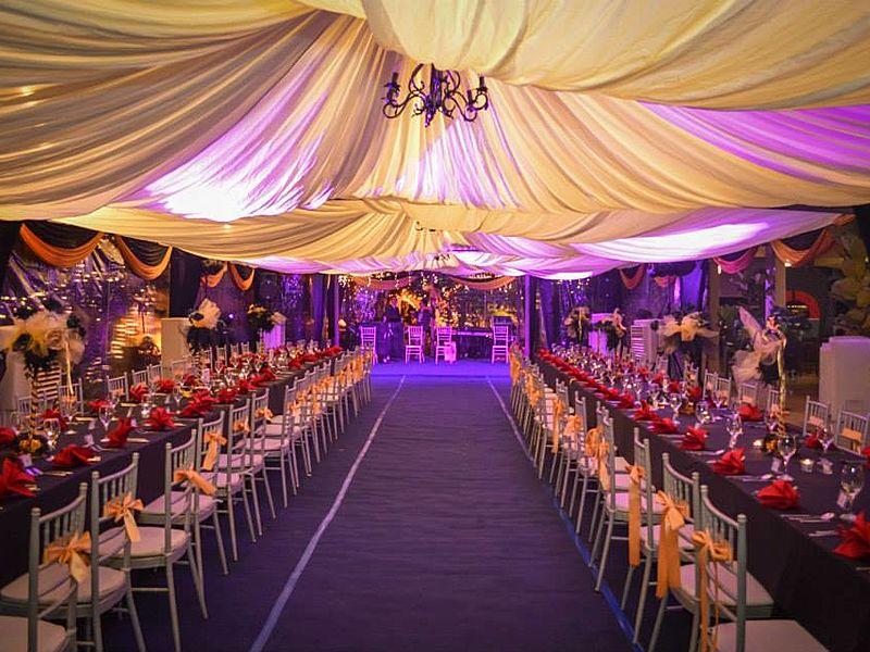 private intimate wedding dinner celebration