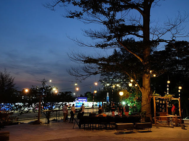private party event at outdoor area of 6spaces
