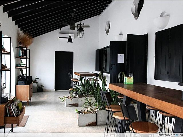 hipster style indoor area of 6spaces