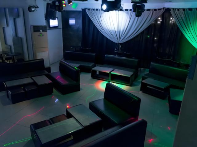 empty lounge area