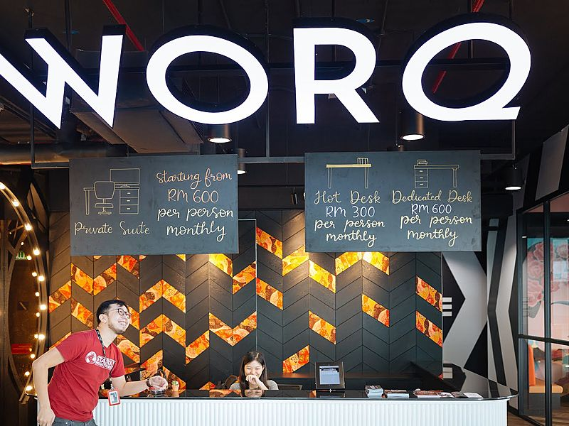 worq coworking space subang the podium cool space gathering shah alam