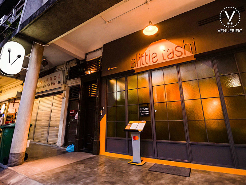 front door of allitle tashi located at jalan besar