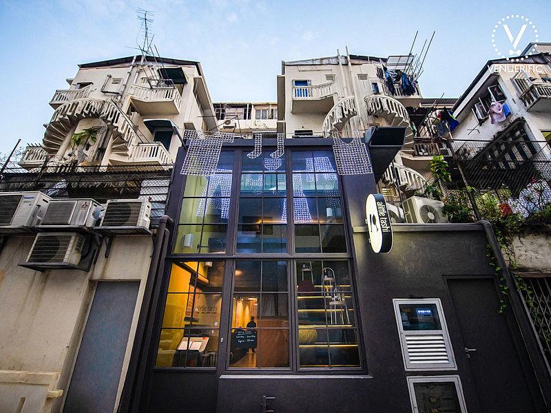 laid back restaurant building by alittle tashi singapore