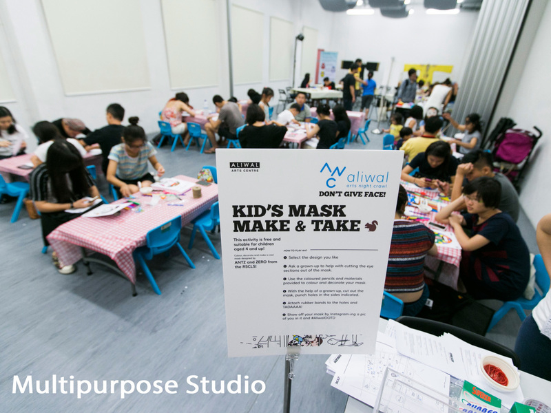 kid's art workshop for free by aliwal arts centre