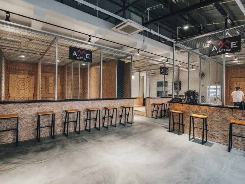 industrial interior look of axe factor