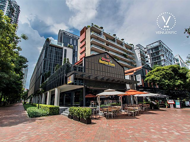 the building of beast & butterflies by m social singapore