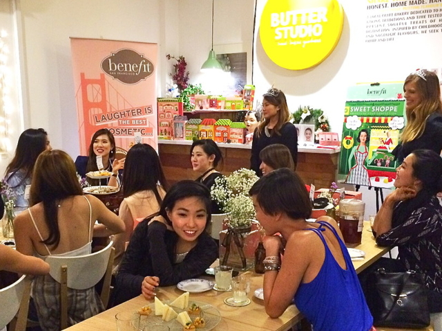 influencer and product launch event by benefit