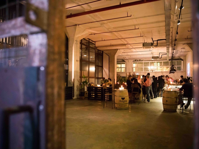 the look of industrial event space by cargo39