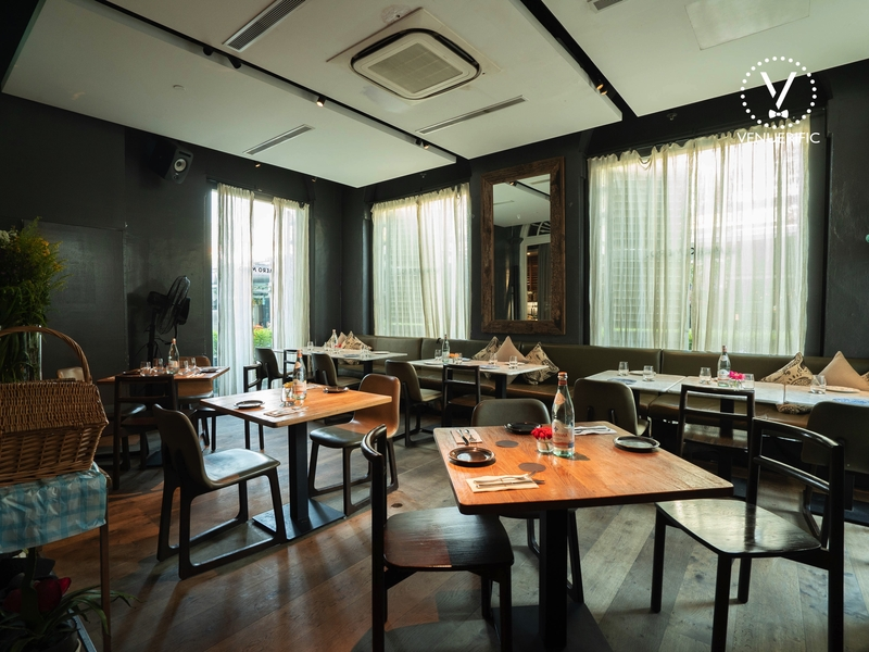 private dining area for up to 40 pax