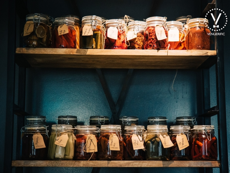 wide variety of mexican's spice in the jar