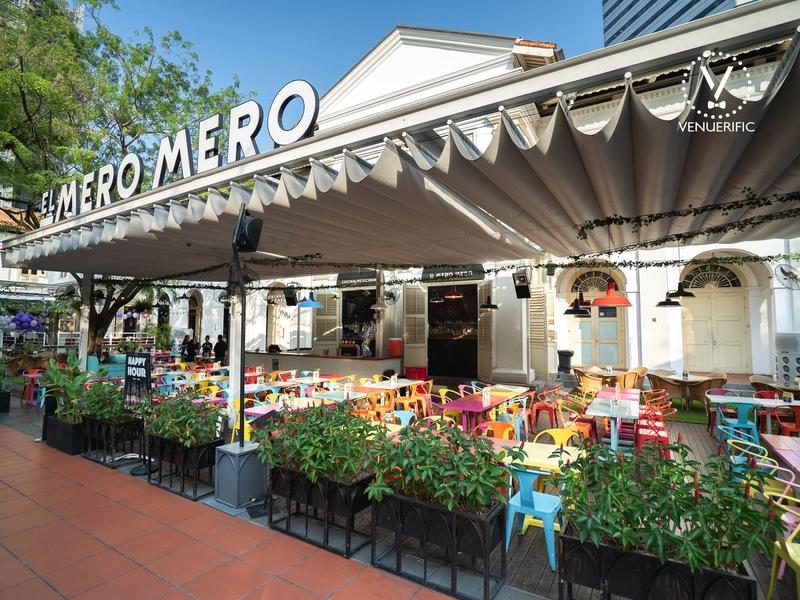 the exterior look of el mero at chjimes