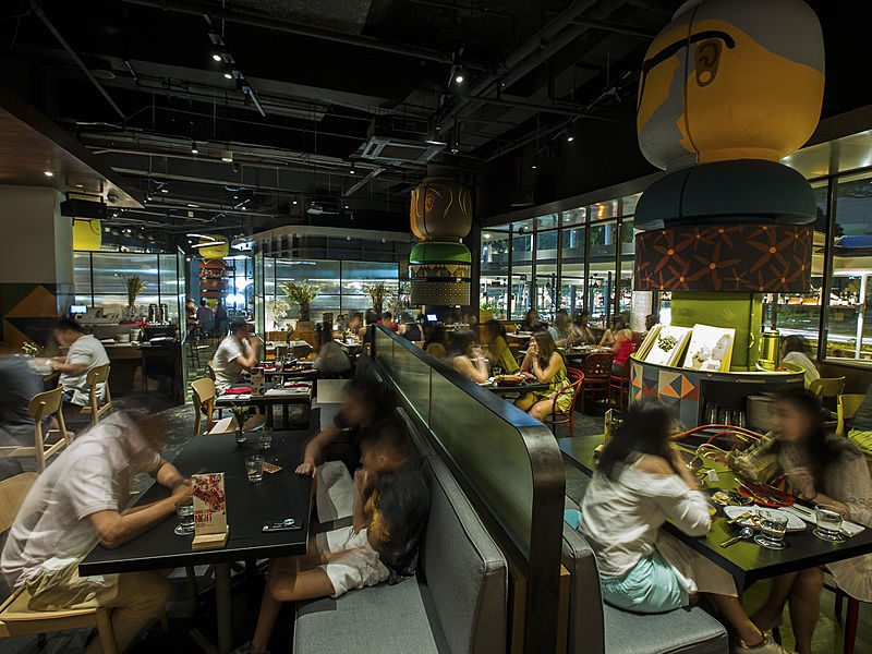 buzzing tapas bar and restaurant located in a laid back nook of orchard road