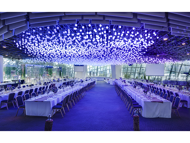 versatile indoor spaces with specially programmed of led mood lights
