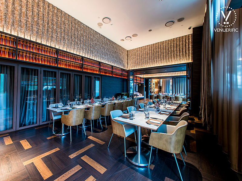 restaurant with private room with elegant design