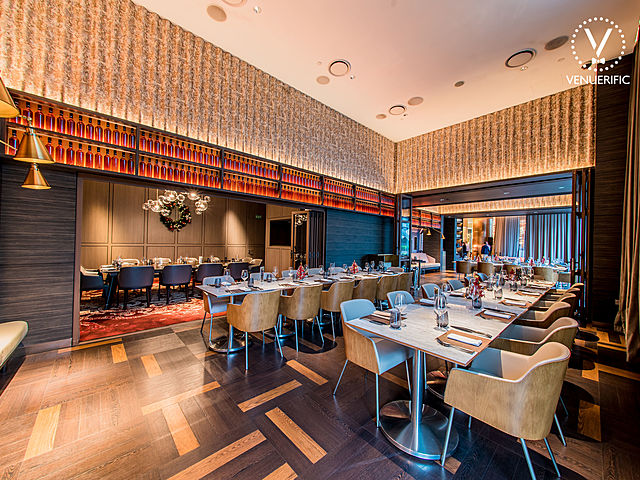 grissini restaurant provides guests the flexibility of choosing the layout