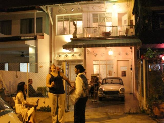 1950s, early 60s event space tucked away in e east singapore