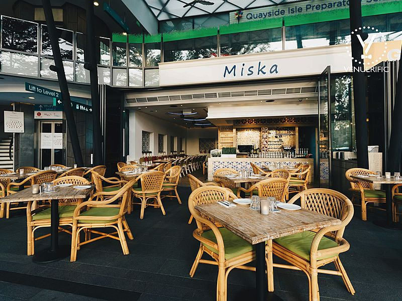 singapore cafe with outdoor space for event