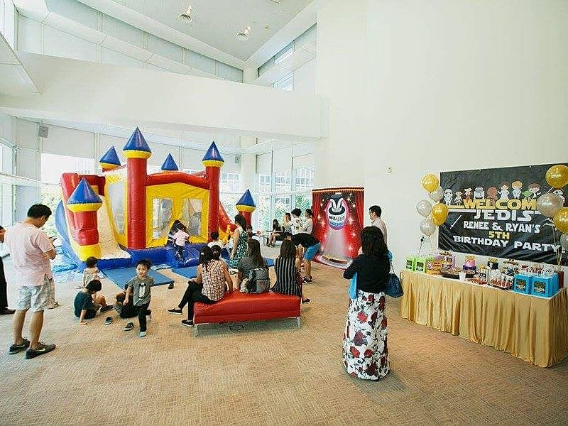 family friendly event space for celebrate kids party