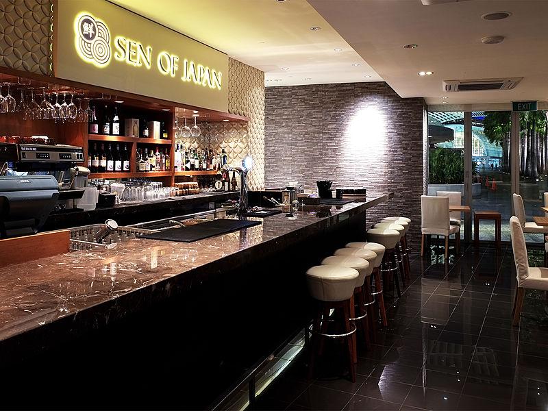 minimalist japanese bar in singapore
