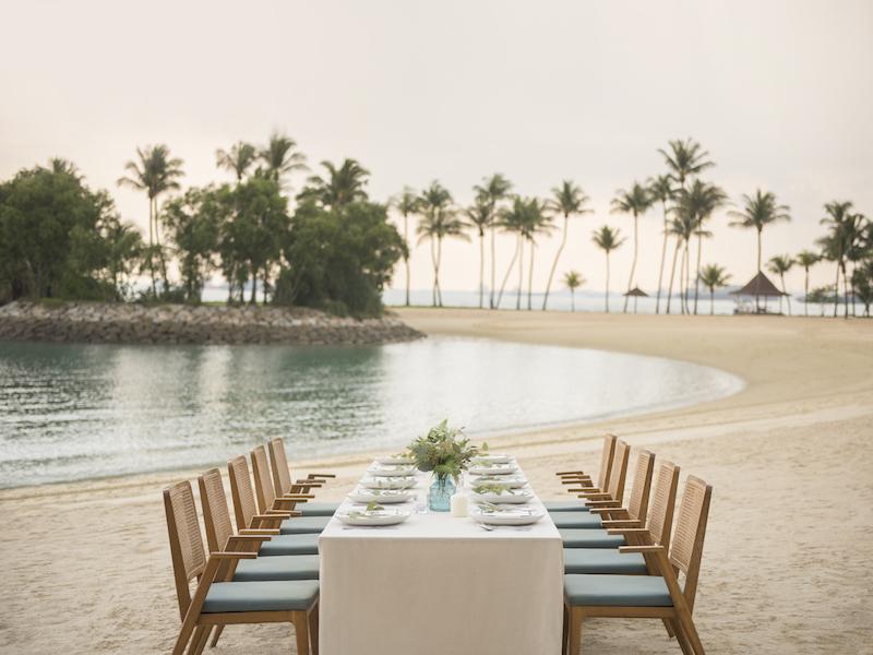 seaside restaurant in singapore for birthday event