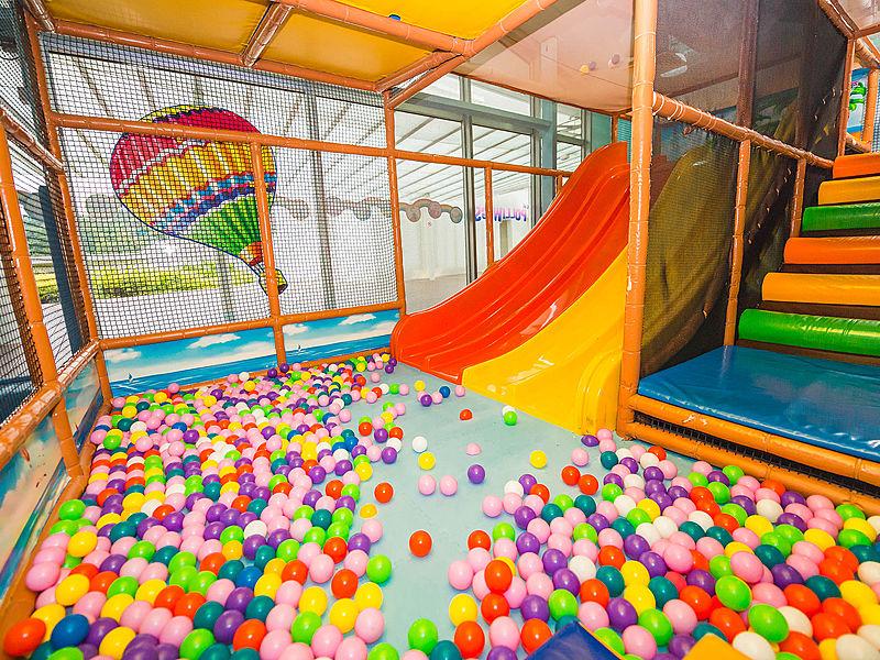 singapore mini playground slides and ball pit
