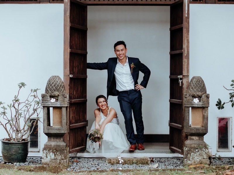 balinese style venue in singapore for pre wedding shoot