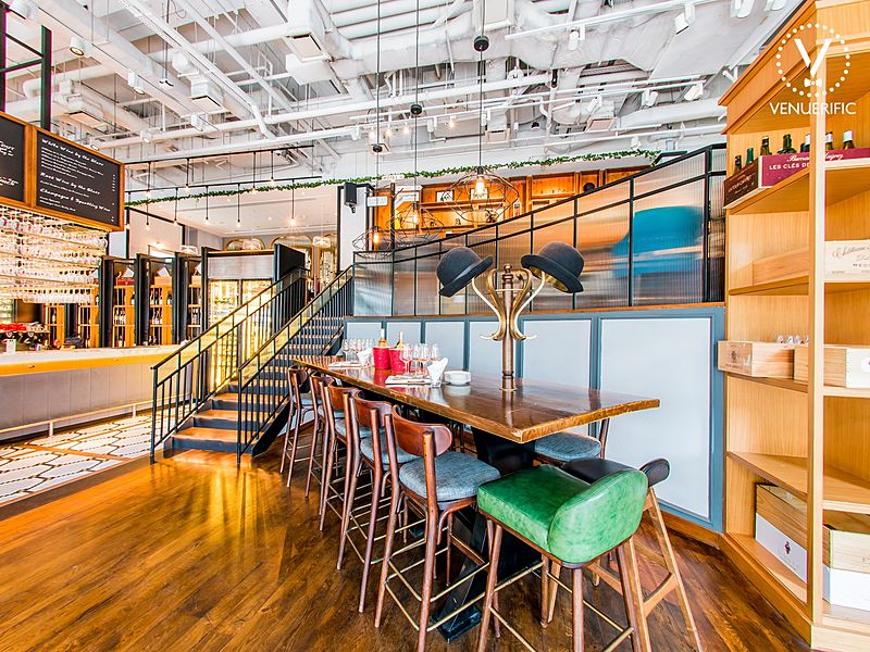 social event space area with capacity up to 45 pax