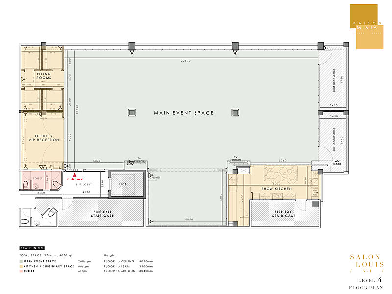maison miaja singapore venue layout