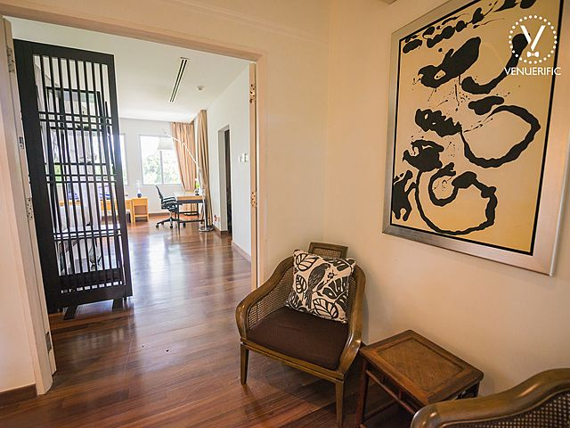 mansion with japanese style interior